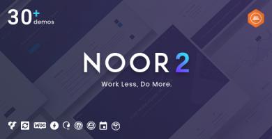 نور | Noor - قالب وردپرس چند منظوره شرکتی