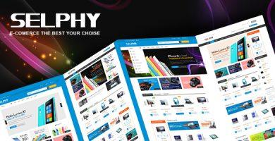 VG Selphy - قالب وردپرس فروشگاهی