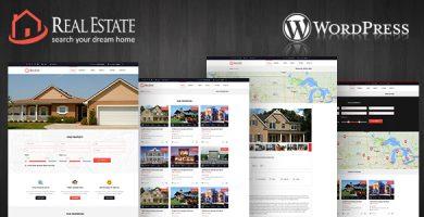 Real Estate WordPress Theme - قالب وردپرس املاک