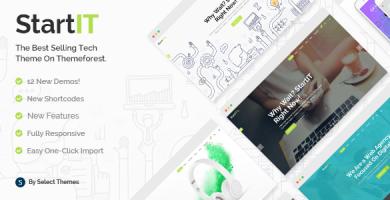 استارت آی تی | Startit - قالب وردپرس شرکتی