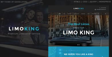 قالب Limo King - قالب وردپرس کرایه خودرو و حمل و نقل