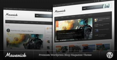 قالب Maverick - قالب وردپرس وبلاگ و مجله