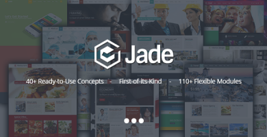 قالب Jade - قالب وردپرس چند منظوره