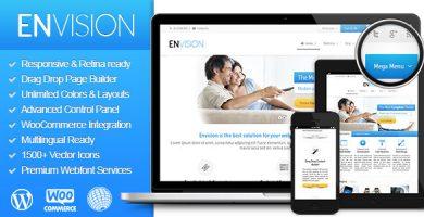 قالب انویژن | Envision - قالب وردپرس چند منظوره