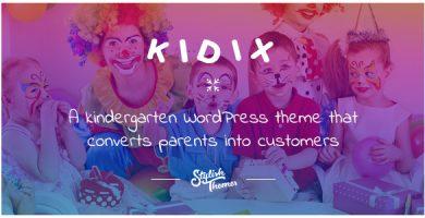 قالب KIDIX - قالب وردپرس مهدکودک