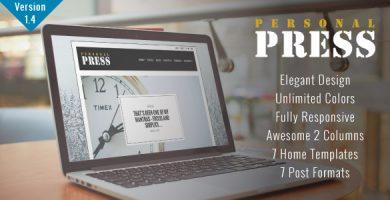 قالب Press - قالب بلاگی وردپرس زیبا