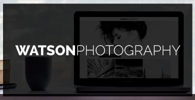 قالب Watson - قالب وردپرس عکاسی