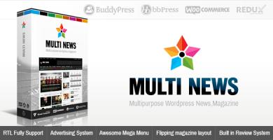 مالتی نیوز | Multinews - قالب خبری و مجله وردپرس