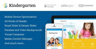 قالب Kindergarten - قالب وردپرس کودکان