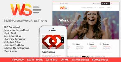 WorkSpace - قالب وردپرس چند منظوره