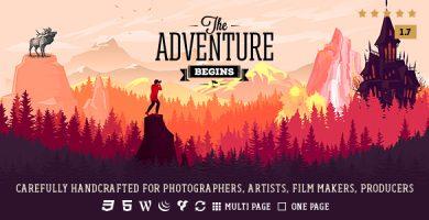 Adventure - قالب عکاسی