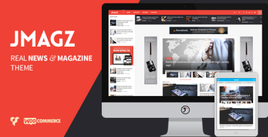 قالب JMagz - قالب وردپرس مجله نقد و بررسی