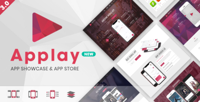 اپلی | Applay - قالب وردپرس اپلیکیشن موبایلی