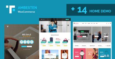 قالب آمبستن | Ambesten - قالب وردپرس فروشگاهی و شرکتی