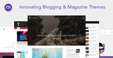 قالب Magazine3 - قالب وردپرس