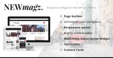 قالب NewMagz - قالب مجله وردپرس
