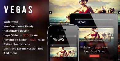 Vegas - قالب وردپرس ریسپانسیو