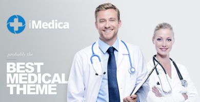 قالب iMedica - قالب وردپرس پزشکی و سلامتی