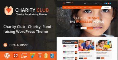 قالب Charity Club - قالب وردپرس خیریه