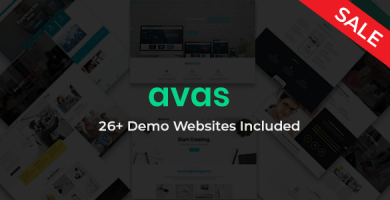 Avas - قالب وردپرس چند منظوره