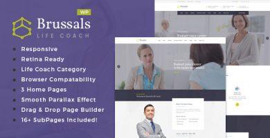 قالب Brussals - قالب وردپرس مربی برنامه نویسی شخصی