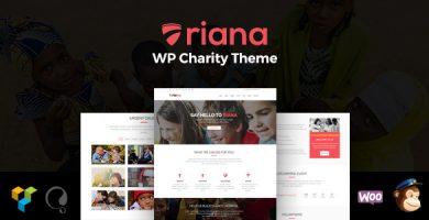 قالب Riana - قالب خیریه برای وردپرس