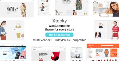 Xtocky - قالب فروشگاهی وردپرس