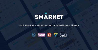 اس مارکت | SNS Market - قالب فروشگاهی ووکامرس