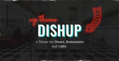 قالب DishUp - قالب وردپرس برای رستوران