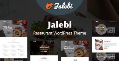 قالب Jalebi - قالب وردپرس رستوران
