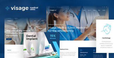 قالب Visage - قالب وردپرس پزشکی و سلامتی