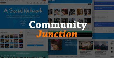 قالب CommunityJunction - قالب بادی پرس