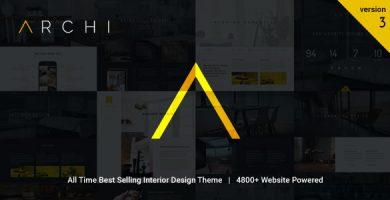Archi - قالب وردپرس دکوراسیون داخلی