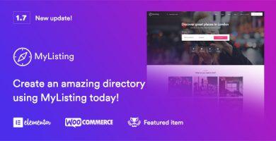 مای لیستینگ | MyListing - قالب وردپرس دایرکتوری و ثبت آگهی
