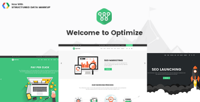قالب اپتیمایز | Optimize - قالب سئو، کسب و کار اینترنتی
