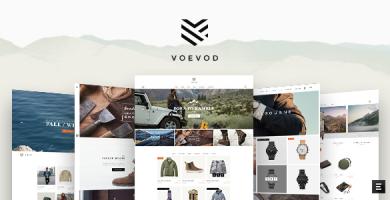 قالب Voevod - قالب فروشگاهی نوشیدنی ها