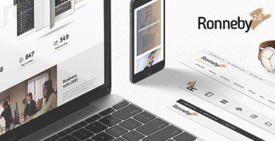 قالب رانبی | Ronneby - قالب وردپرس چند منظوره