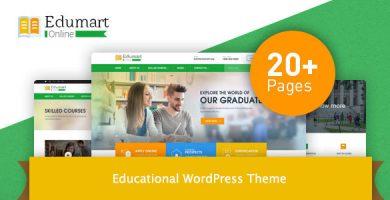 Edumart - قالب وردپرس آموزشی