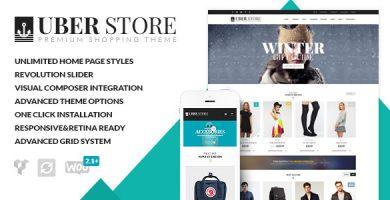 UberStore - قالب فروشگاهی