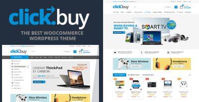 کلیک بای | Clickbuy - قالب فروشگاهی