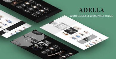 Adella - قالب فروشگاه جهانی