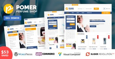 پومر | VG Pomer - قالب فروشگاهی وردپرس
