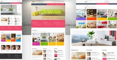 اینووا | Innova - پوسته وردپرس تخصصی طراحی داخلی و فروشگاهی