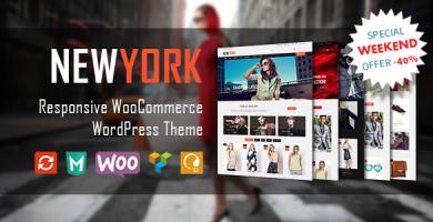 VG NewYork - قالب وردپرس فروشگاهی
