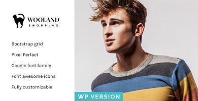 قالب Wooland - قالب وردپرس فروشگاهی