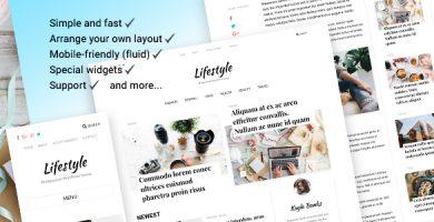 قالب Lifestyle - قالب وبلاگی شخصی و مجله ای وردپرس