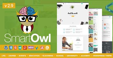 قالب SmartOWL - قالب آموزشی و سیستم مدیریت آموزش برای وردپرس