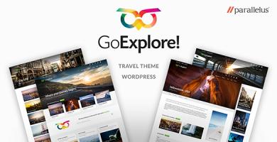 قالب GoExplore - قالب وردپرس گردشگری