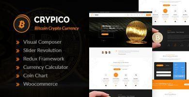 قالب Crypico - قالب وردپرس ارز دیجیتال