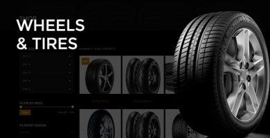 Wheels & Tires - قالب وردپرس